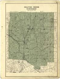 Sugarcreek Ohio Map by Greene County Ohio 1896 Atlas