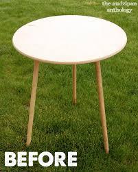 24 round decorator table round decorator table 12 30 inch wood composite regarding