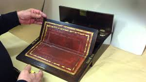 william iv writing box lap desk youtube