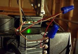 garage door sensor wire automating your garage door with mimolite object partners