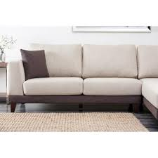 Abbyson Sectional Sofa Abbyson Living Juliette Fabric Sectional Sofa In