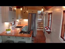 superb craftsmanship defines this 30 tiny house on wheels gorgeous luxury tiny house with a full kitchen youtube perfect