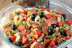 recipes for pasta salad i eat houston classic italian pasta salad recipe
