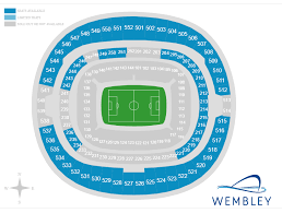 tottenham wembley seating plan away fans revealed massive number of tottenham v newcastle tickets unsold