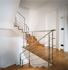 Stainless Steel Banisters Marretti Srl Stainless Steel Banister 5 Internal External