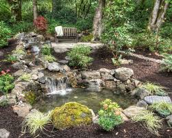 pond in forest ideas ideas with small pond wooden pathways