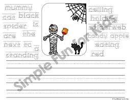 halloween writing prompts for beginners simple fun for kids