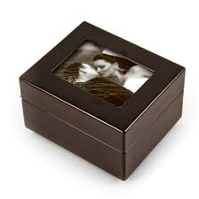 jewelry box photo frame sleek and modern 4 5 x 3 5 photo frame musical jewelry box