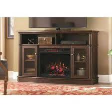 Indoor Electric Fireplace Electric Fireplace Media Stand In Stand Infrared Bow Front