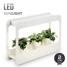 plant grow led light kit countertop garden with timer function