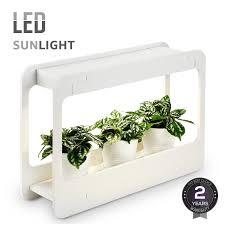 Indoor Herb Garden Light Plant Grow Led Light Kit Countertop Garden With Timer Function