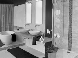 black tile bathroom ideas interior and furniture layouts pictures unique white