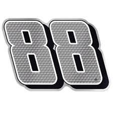 car logo black and white dale earnhardt jr no 88 car emblem raceline direct