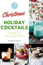alcoholic cocktails to make you merry and bright