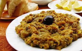 marocain de cuisine salade d aubergines recette de salade d aubergines