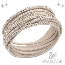 leather bracelet swarovski images Salada bowl rakuten global market swarovski bracelet swarovski jpg