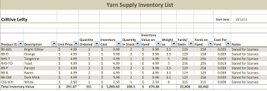 Jewelry Inventory Spreadsheet Template by Handmade Inventory Tracking Part 1 Handmade Artists