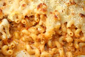 Five Cheese Marinara Sauce On Cavatappi Pasta With Chicken Meatballs - pickycook com penne with 5 cheeses