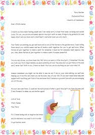 get well soon for children get well soon letter the letter fairy