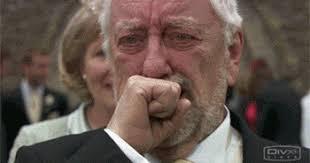 Old Man Meme - old man crying gif
