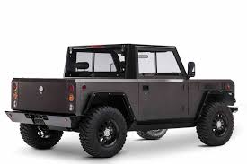 future jeep truck the all electric bollinger b1 is the future of offroading the