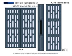 Star Decals For Ceiling by Niubniub U0027s Decal Downloads Death Star Docking Bay Alcove Ceiling