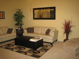 Yellow Sofa With Tan Walls  Cream Leather Sofa Chocolate Brown - Cream color living room
