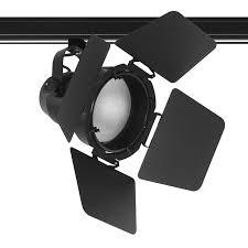 juno track lighting heads juno trac master t296 studio ii par38 track light with barn doors