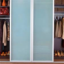 Frosted Glass Closet Sliding Doors Moderate Design Aluminum Door Frame Frosted Glass Closet Sliding