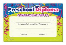 preschool diploma you re a preschool diploma package of 25 cool school studios
