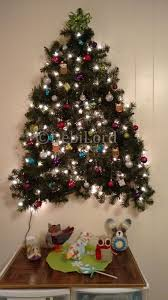 3 d wall christmas tree i made this with two 9 ft strands of pre