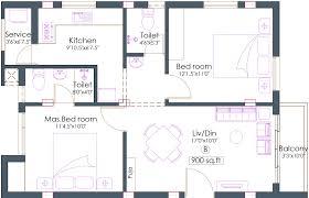 2bhk Plan For 500 Sq Ft 900 Sq Ft 2 Bhk 2t Apartment For Sale In Pushkar Saiarpitha