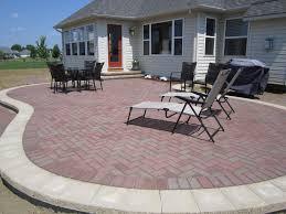 Concrete Paver Patio Designs Concrete Pavers Cost Best Pavers For Patio Brick Patio Designs