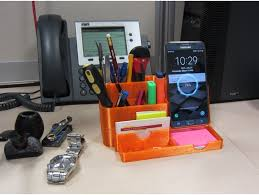 desk phone stand organizer all in one desk organizer pencil holder with wireless charging