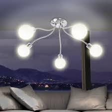 Wohnzimmer Lampen Ebay Neu Wohnzimmer Deckenlampe Deckenstrahler Flexibel Spots Weiß