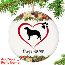 i my setter ornament top pet gifts