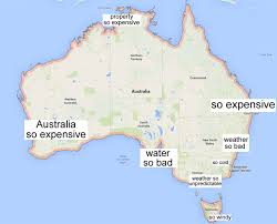 australia map capital cities why is queensland so backward here s a map of