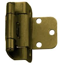 3 8 overlay partial wrap cabinet hinges inset offset 3 8 semi wrap hinges antique brass self closing