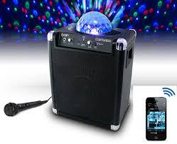 karaoke machine with disco lights untitled document