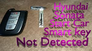 start hyundai sonata with dead smart key battery youtube