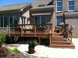 not your grandmother u0027s porch and deck railings archadeck of