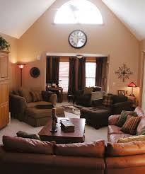 Decorating Ideas For Living Rooms With Brown Leather Furniture Interior Interior Decoration Ideas Furniture Ealing Living Room