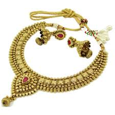 antique jewelry necklace sets images Antique gold necklace jpg