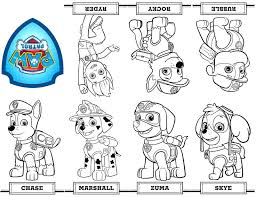 printable paw patrol christmas coloring pages coloring pages ideas