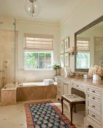 light emperador marble bathroom craftsman with beadboard ceiling