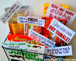 candy basket ideas gift ideas cus