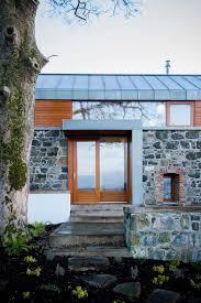 glass u0026 wood front door barn conversion in broughshane northern