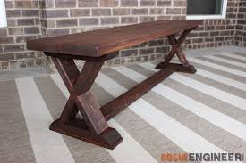 Plans For Wood Patio Table by 20 Garden And Outdoor Bench Plans You Will Love To Build U2013 Home