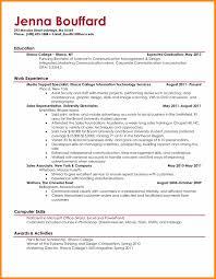 Resume Expected Graduation 10 Recent College Graduate Resume Samples Bill Pay Calendar