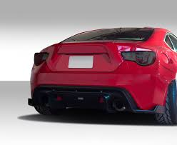 widebody subaru brz 13 16 scion frs gt500 duraflex rear bumper diffuser wide body kit